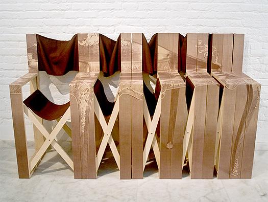 Contoh desain kursi lipat praktis dari mr.simon