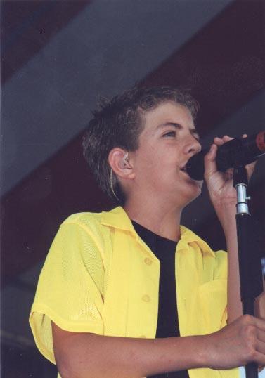 Billy Gilman in Boston Show, 2000