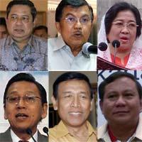 Calon Presiden RI 2009 - 2014