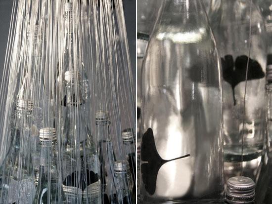 Lampu gantung botol bekas