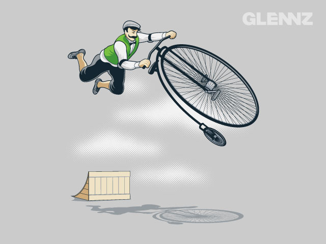 jumping bicycles